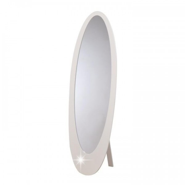 Oglindă, strălucire albă, MDF rama,...