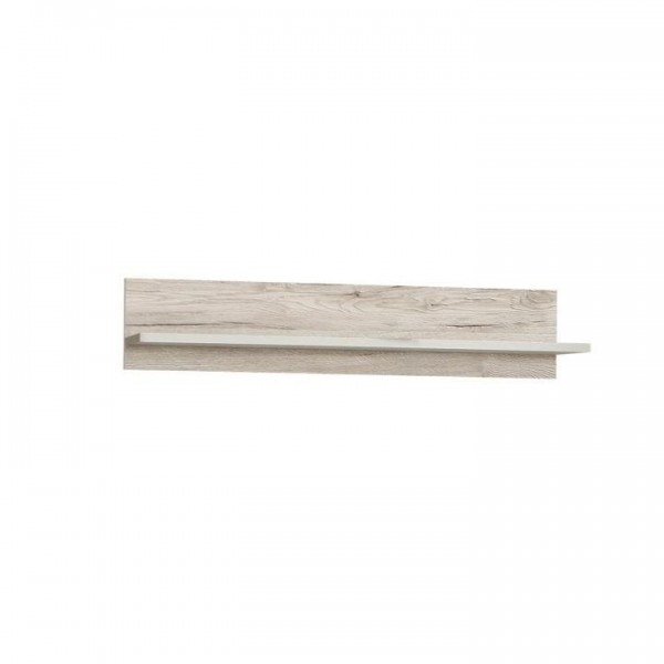 Raft, stejar nisip/alb, VALERIA