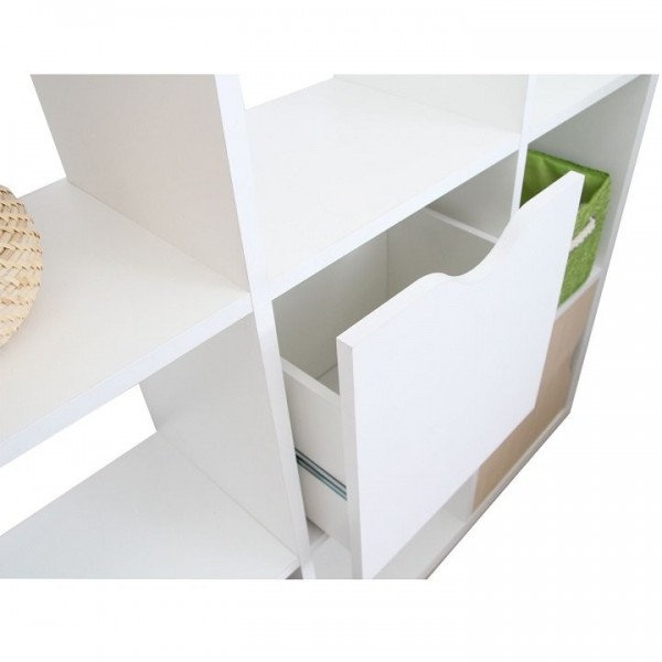 Sertar, alb, TOFI BOX NEW