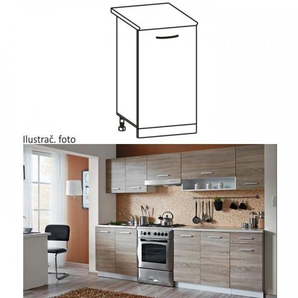 Cabinet pentru bucătărie, inferior,...