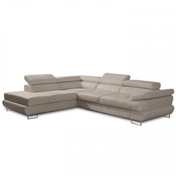 Canapea cu spatiu de depozitare, maro...