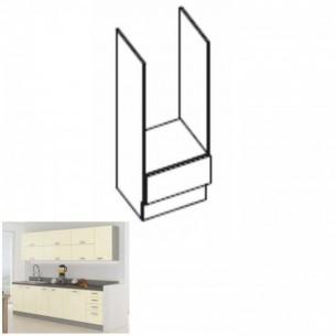 Cabinet inferior, crem...