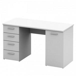 Masa de birou, alba, EUSTACH