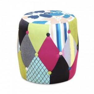 Taburet, material textil...