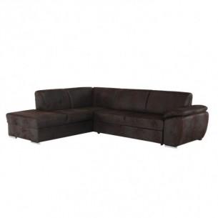 Canapea, textil ciocolatiu,...