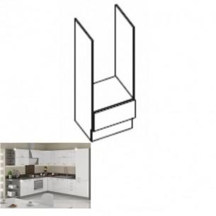 Cabinet inferior, alb...
