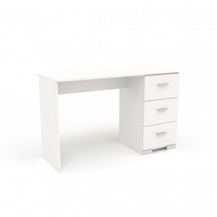 Birou GALAXY alb in stil Modern,din PAL melaminat,culoare conform foto