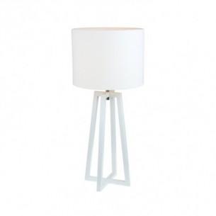 Lampa de masa, alb, QENNY 14