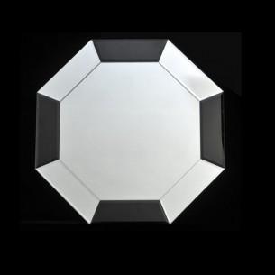 Oglinda, negru/alb, ELISON...