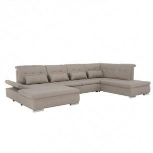 Canapea in forma de U, bej,...