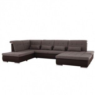 Coltar in forma de U, maro...
