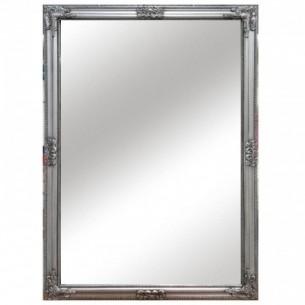 Oglinda, cadru argintiu din...