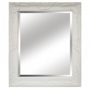 Oglinda, cadru alb din...