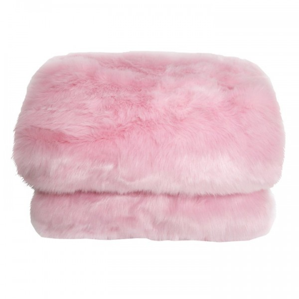 Patura de blana, roz, 150x170, EBONA...