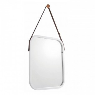 Oglinda, bambus/alb, LEMI...