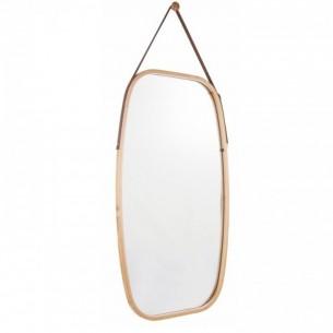 Oglinda, bambus, natural,...