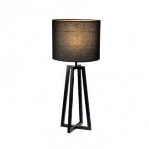 Lampa de masa, negru, QENNY 15