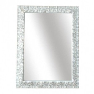 Oglinda, alb-auriu, MALKIA...
