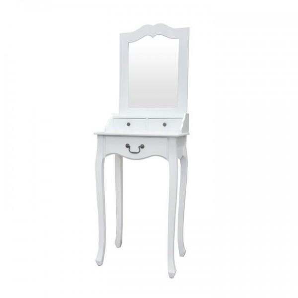 Masuta de toaleta, alb, GINO