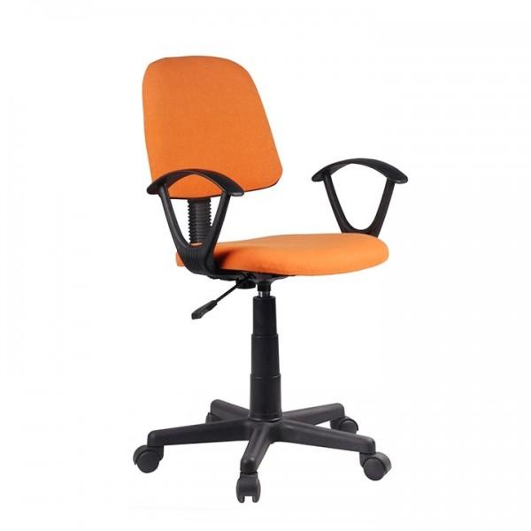 Scaun de birou, portocaliu/negru, TAMSON