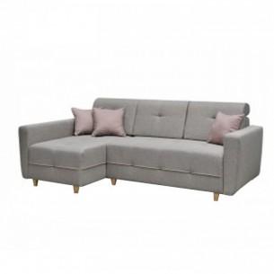 Canapea, gri/roz pudra,...