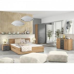 Set dormitor UTAH, stejar...