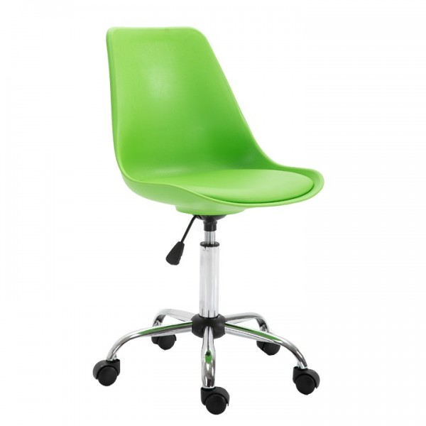 Scaun de birou, verde, DARISA