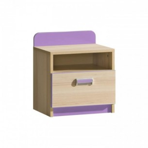 Noptiera, frasin/violet,...