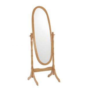 Oglinda tip stand, stejar,...