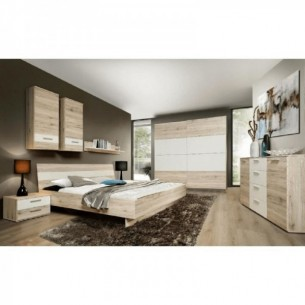 Dormitor, dulap+pat+2buc...