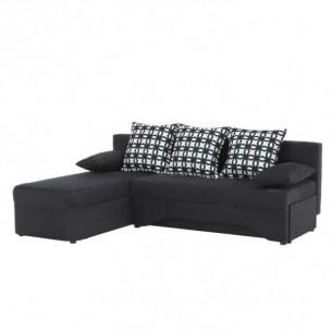 Set de canapea cu colt, gri...