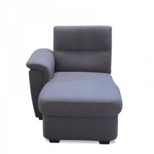 Canapea, material gri, la...