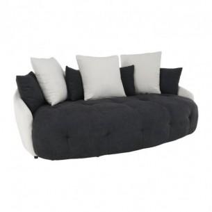 Canapea, alb/negru/gri...