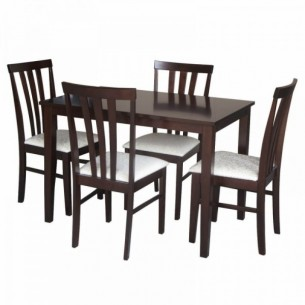 Set dining, wenge/material...