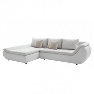 Set canapea, alb/gri...