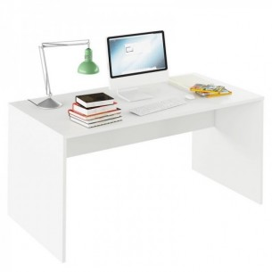 Masa de scris, alb, RIOMA...