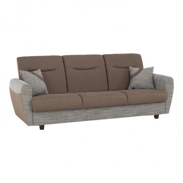 Canapea cu trei locuri, extensibila,...