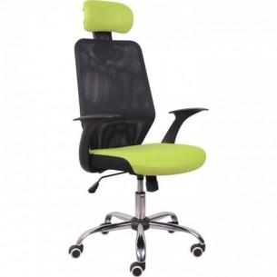 Scaun birou, verde/negru,...