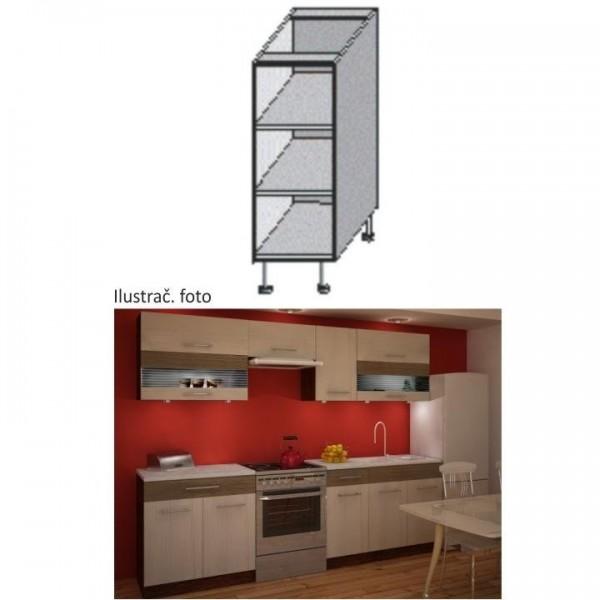 Cabinet pentru bucatarie cu rafturi,...