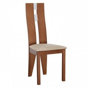Scaun lemn, cires/material...